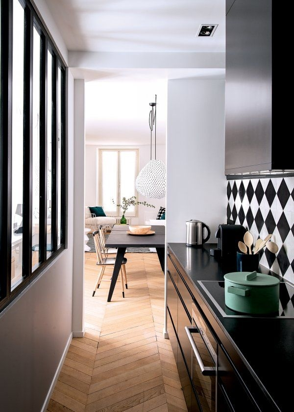 Narrow Kitchen Design Ideas  Interiorholic