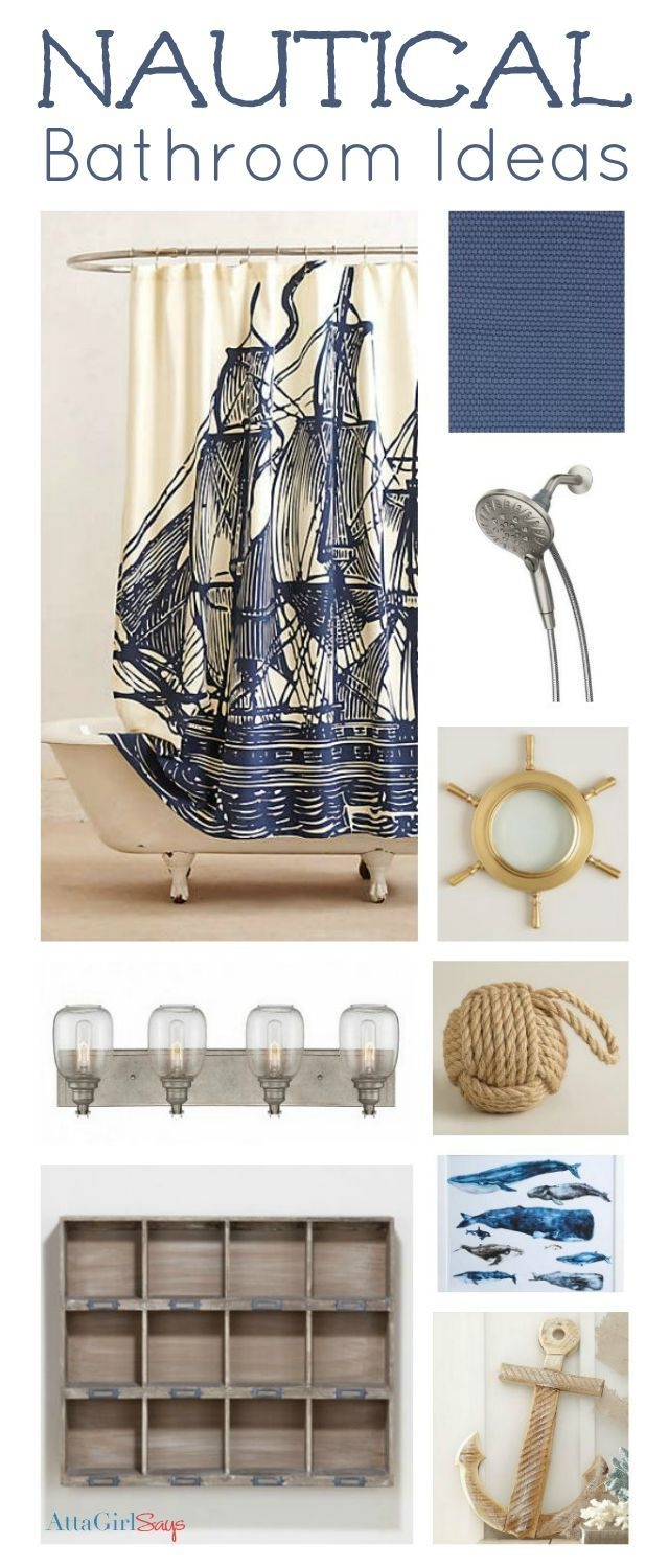 Nautical Kids Bathroom Ideas