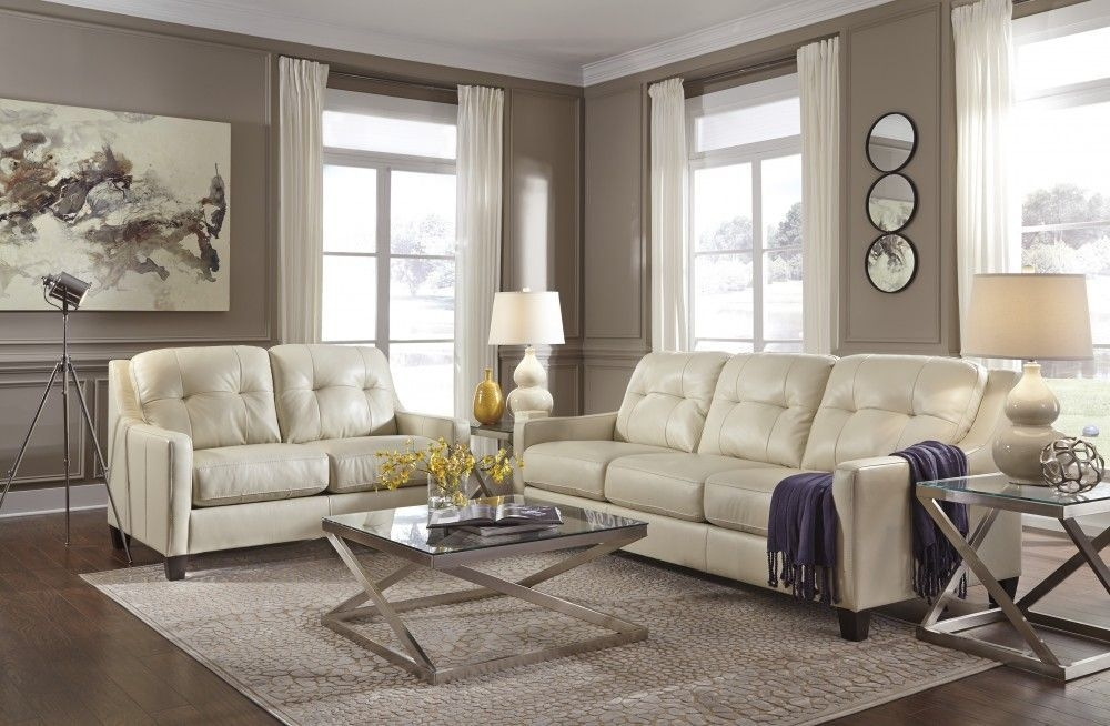 O'Kean  Galaxy  Sofa  Living Room Sets Living Room Leather Sectional Sofas Living Room