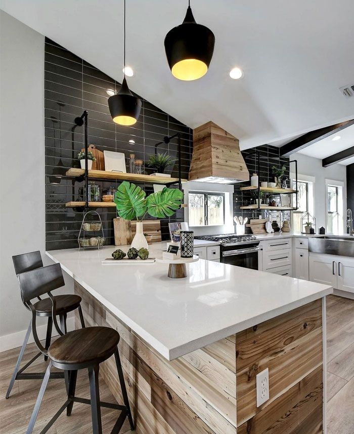 Open Concept Kitchen And Living Room – 55 Designs  Ideas  Living Room Kitchen Interior Design