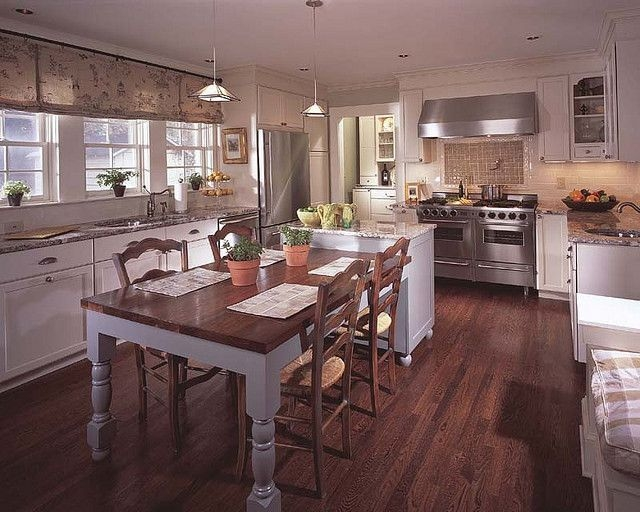 Peachtree Hills Kitchen  Kitchen Island With Table Attached Kitchen Island With Seating
