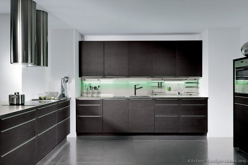 Pictures Of Kitchens  Modern  Dark Wood Kitchens Kitchen 17