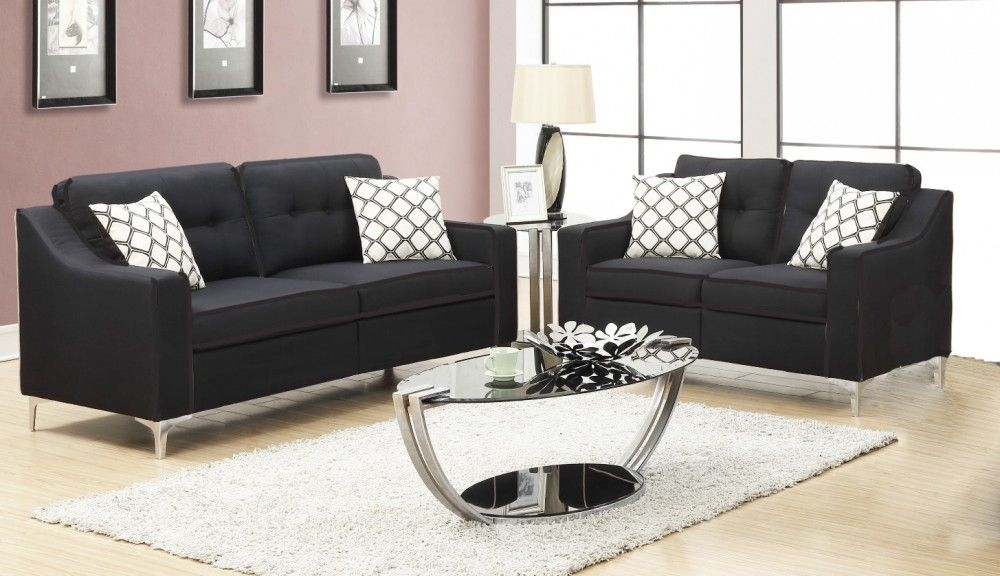 Pricebusters Special Black Sofa  Love Under 500  1110  Living Room Sets  Price Busters