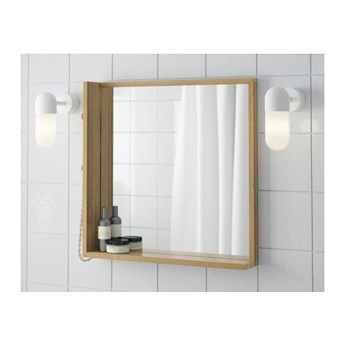 Rågrund Mirror  Bamboo  Ikea Ikea Bathroom Accessories Bamboo Bathroom