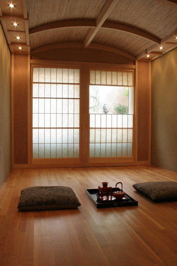 Shoji Doors – Japanese Style In The Interior Of The Home
