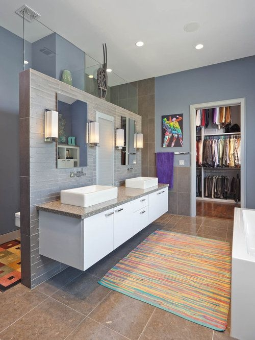 Shower Behind Sink Ideas Pictures Remodel And Decor