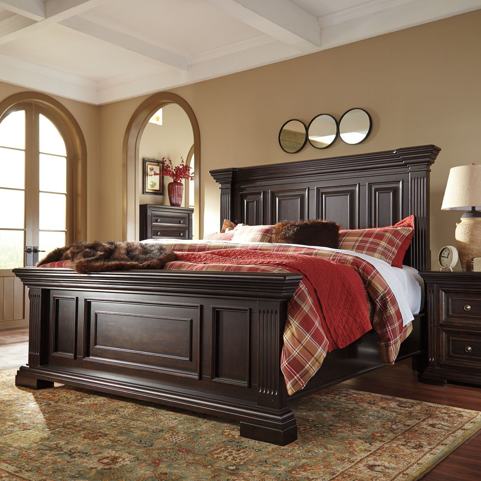 Signature Designashley Willenburg Panel Bed  From Hayneedle  Bedroom Set Bedroom Sets