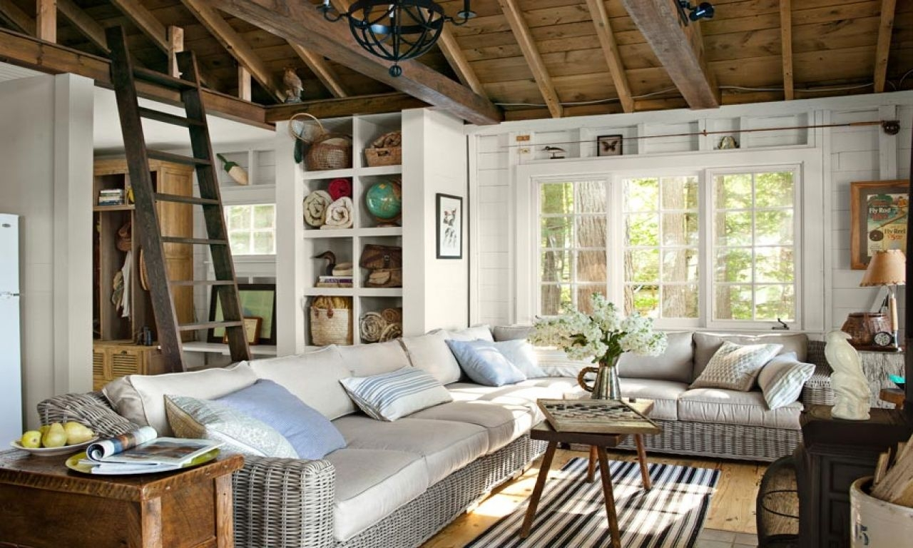 Small Living Room Lake House Lake House Living Room Decorating Ideas Lake Cottage Design