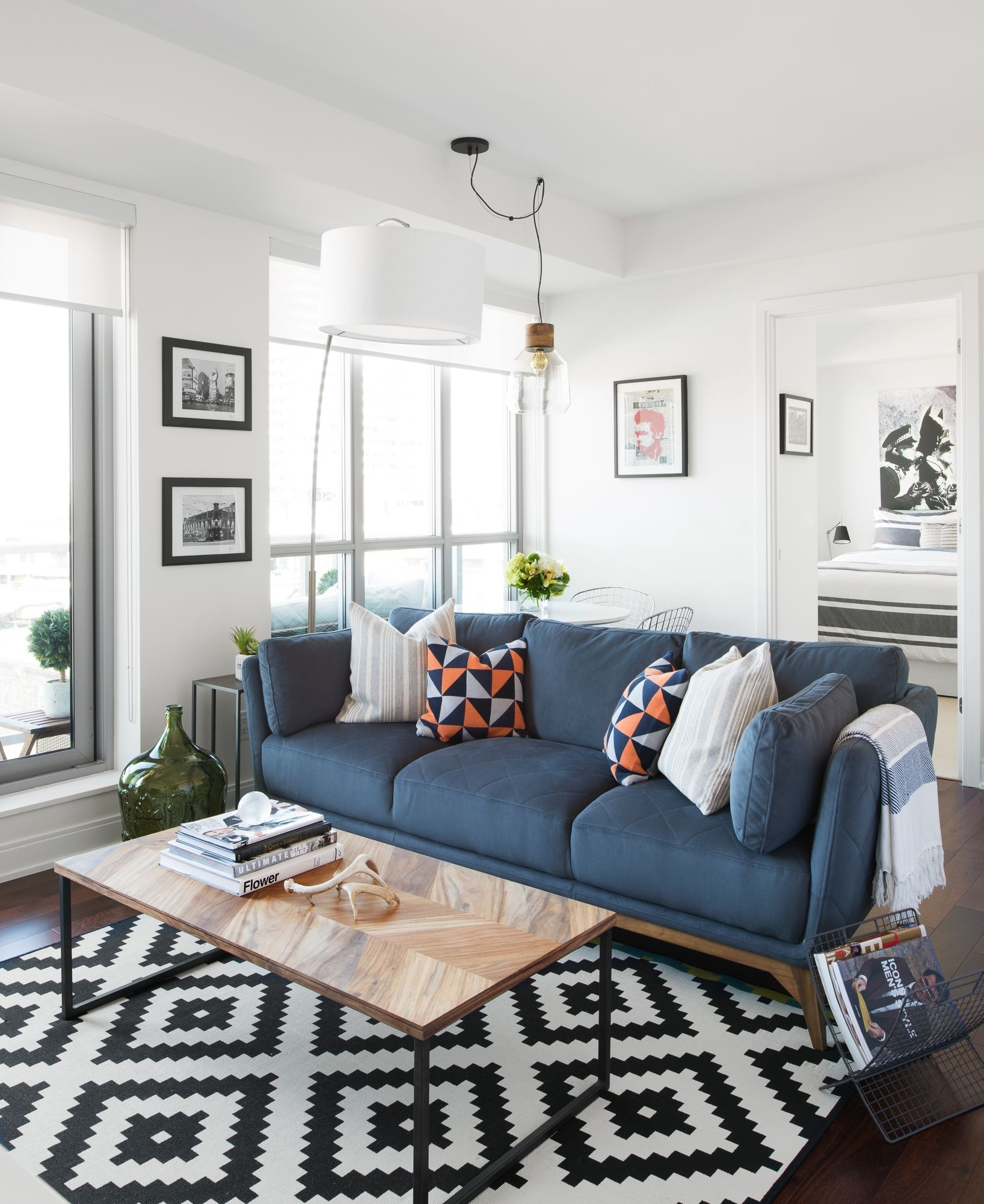 This Bachelor Pad Features Great Furniture From Structube Cb2 And Ikea Decorate Your Space For
