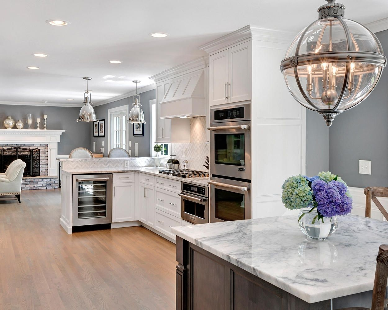 Timeless Grey And White Kitchen Middletown New Jerseydesign Line Kitchens