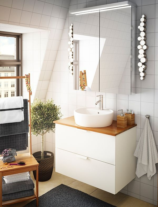 Us  Furniture And Home Furnishings  Small Bathroom Vanities Ikea Bathroom Lighting Bathroom