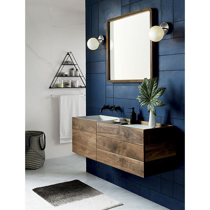 Vega 1 Bulb Black Nickel Wall Sconce  Reviews With Images  Masculine Bathroom Bathroom