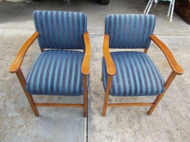 Vintage Danish Innerspring Dining Kitchen Chairs Display Armchair  Dining Chairs  Gumtree
