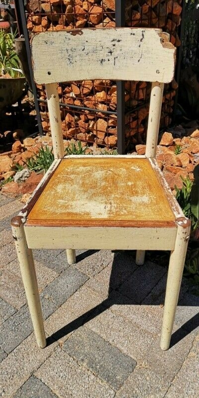 Vintage Kitchen Chair  With A Distressed Look J 5189  Bedfordview  Gumtree Classifieds South