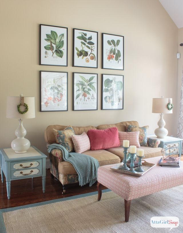 Vintage Meets Modern Living Room Decorating Ideas