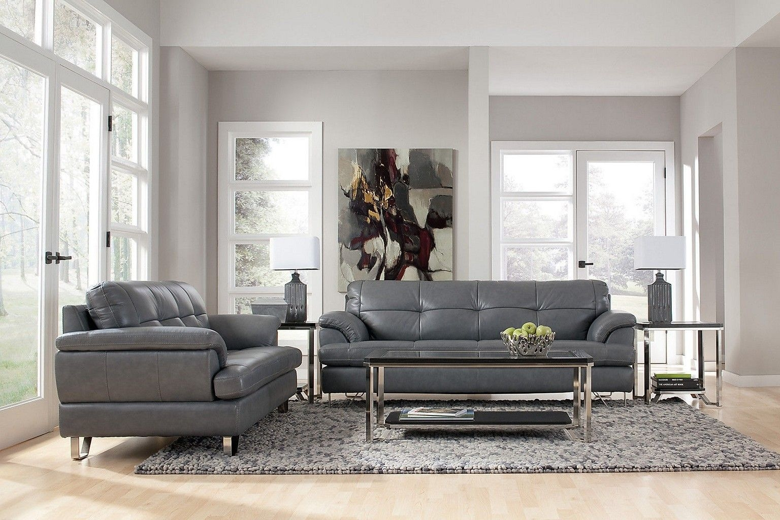 Ways To Decorate Grey Living Rooms  Living Room Grey Leather Sofa Decor Grey Couch Decor