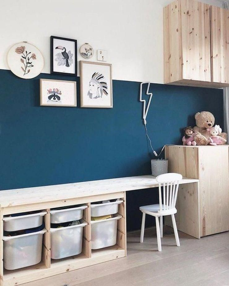 Why And How To Make Your Own Desktop  Ikea Kids Room Kid Room Decor Kids Bedroom Decor