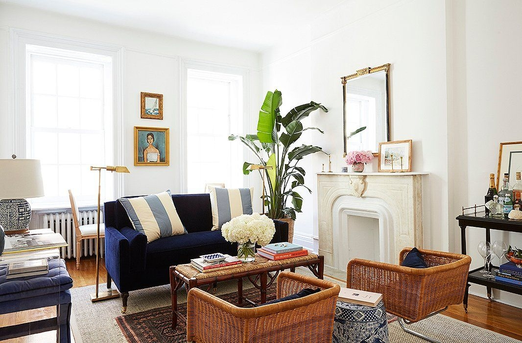 Amy Stone'S Preppy  Polished Apartment  Lauren Nelson