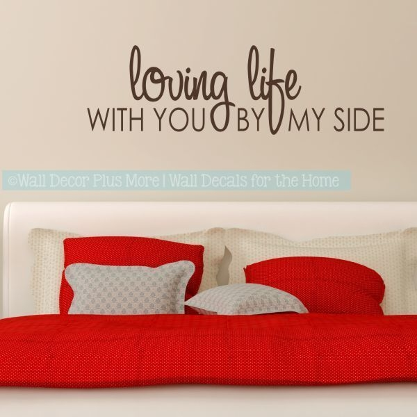 Romantic Sayings Over The Bed  Google Search  Bedroom Wall Wall Decals For Bedroom Wall
